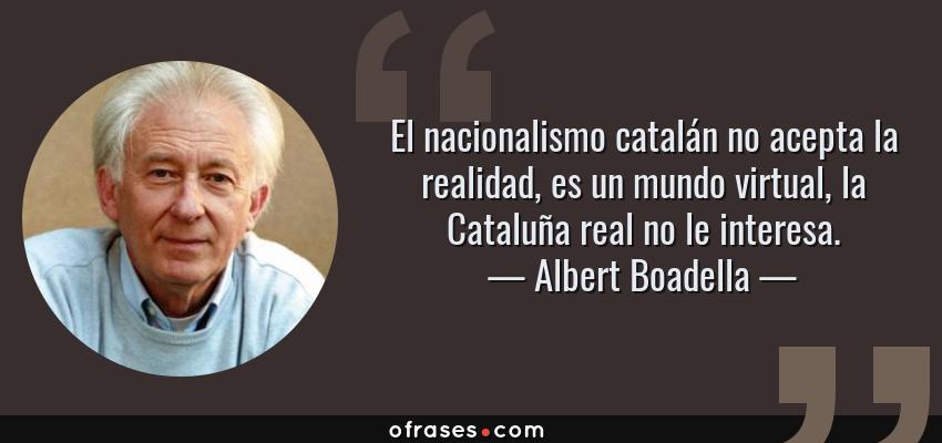 Albert Boadella El Nacionalismo Catalán No Acepta La