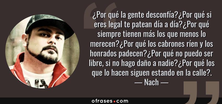 Nach Por Qué La Gente Desconfíapor Qué Si Eres Legal Te