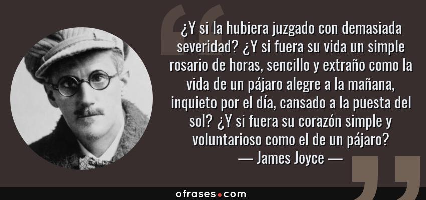 James Joyce Y Si La Hubiera Juzgado Con Demasiada