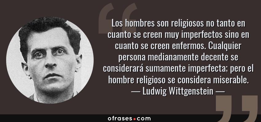 Frases Y Citas Célebres De Ludwig Wittgenstein
