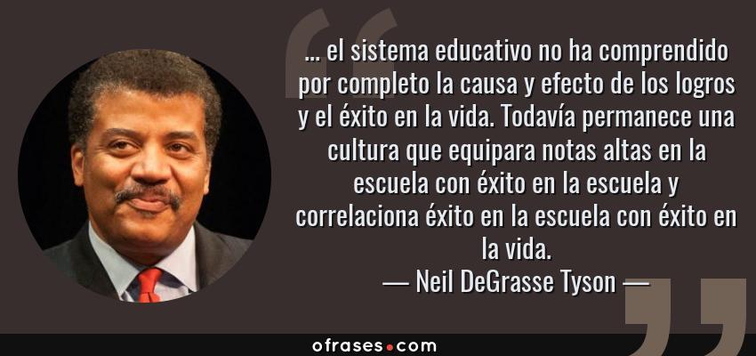 Neil Degrasse Tyson El Sistema Educativo No Ha