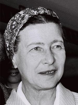 Frases, Imágenes y Biografía de Simone de Beauvoir