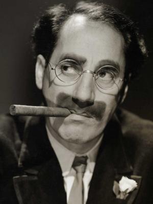 Frases, Imágenes y Biografía de Groucho Marx