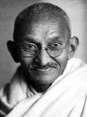 Frases, Imágenes y Biografía de Mahatma Gandhi